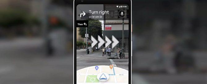 Google Maps augmented reality realtà aumentata